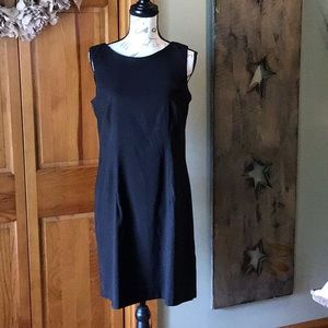 Black sleeveless dress size 12